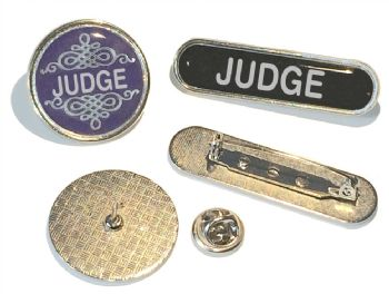 JUDGE badge